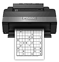 photograph regarding Medium Sudoku Printable called PrintMySudoku - free of charge printable sudokus (medium)